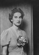 Silvester, Marjorie, Miss, portrait photograph