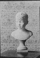 Portrait bust of a child by Mr. Wheeler Williams