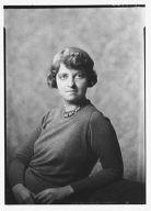 Hoff, Rhoda, Miss, portrait photograph