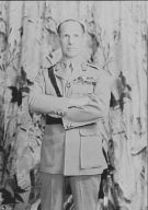 George II, King of Greece, portrait photograph