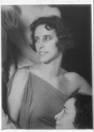 Hamburger, Millicent, Miss, and unidentified woman, portrait photograph
