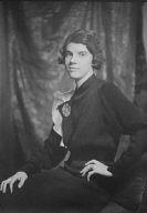 Furcron, Elizabeth, Miss, portrait photograph