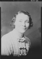 Webster, Mrs., portrait photograph