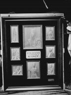 "Display of photographs of Otis Skinner in ""Kismet"""