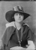 Wanger, Beatrice, Miss, portrait photograph