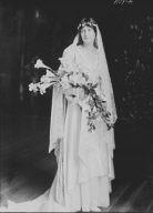 Breese wedding, portrait photograph