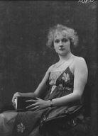 Crosbie, Violet, Miss, portrait photograph