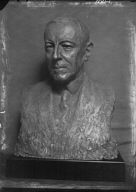 Wilson, Woodrow, President, portrait sculpture by Jo Davidson