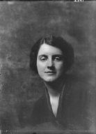 Brown, Elizabeth, Miss, portrait photograph