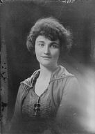 Brown, Frances, Miss, portrait photograph