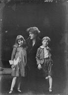 O'Connor, J.W., Mrs., and children, portrait photograph