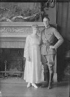 Reiber, Miss, and Major Jorelmon, portrait photograph
