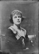 Percival, T.A.D., Mrs. (Von Schlegell), portrait photograph