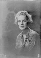 Bahnsen, Miss, portrait photograph