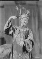 "Ladd, Schuyler, in costume for ""Yellow jacket"""