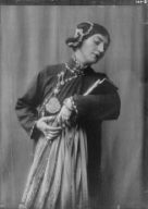 "Morland, Saxone, Miss, in costume as Chee Moo for ""Yellow jacket"""
