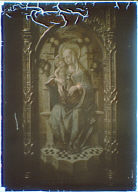 Photograph of a Italian Renaisance painting of the Madonna and Child