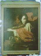 Photograph of a painting of Saint Cecilia