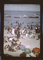 Sunday at Rye Beach, New York