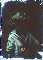 Child wearing a sailor suit
