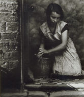 Young Housewife, Bethnal Green, London