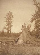 A Cree Camp at Lac les Isles