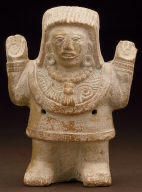 Rattle molded in the form of a dignitary