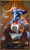 The Immaculate Conception with Saint Francis and Anthony of Padua
