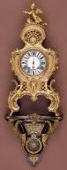 Louis XV Wall Clock with Bracket