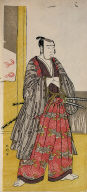 Sawamura Sojuro III as a Samurai