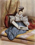 Portrait, 9 heures du matin - Mm (Mlle. Annette Boulanger)
