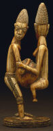 Man and Woman with a Calabash