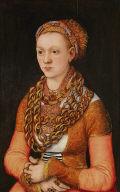 Portrait of Anna Buchner, née Lindacker