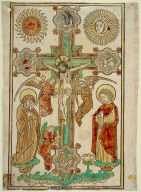 Crucifix with Three Angels and the Symbols of the Evangelists