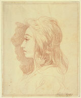 Portrait of a Young Lady in Profile
