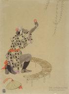 Dancer's Servant, theater design for 'The Grass-Blade'