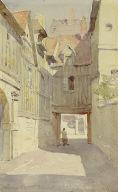 Entrance to Cloisters, St. Maclou, Rouen