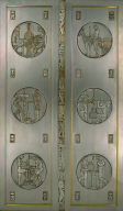 Pair of Art Deco Doors with the Theme of 'Work'