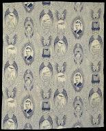 Charles Lindberg Fabric Panel