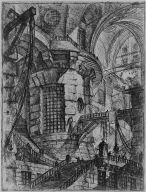 The Round Tower, plate 3 of Carceri