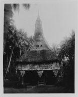 Ceremonial House in Kanganaman Village
