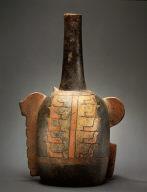 Feline-Head Bottle