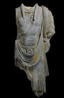 Torso of a standing bodhisattva
