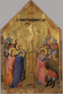 The Crucifixion (one wing of a diptych)