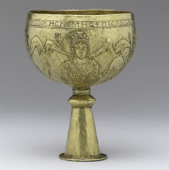 Goblet with Personifications of Rome, Constantinople, Alexandria, and Cyprus (?)