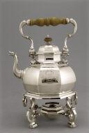 Tea Kettle on Tripod Table-Stand