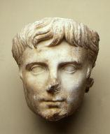Portrait head of the Emperor Augustus