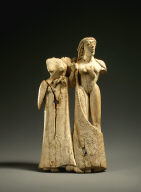 Plaque with two women