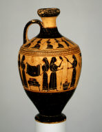 Lekythos (oil flask)
