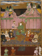 [Album leaf, The House of Bijapur]